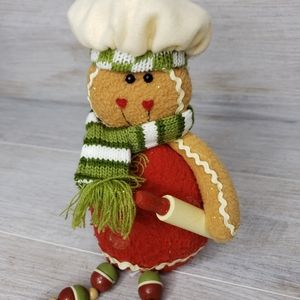 Hallmark Ginger Bread Man With Hanging Man…